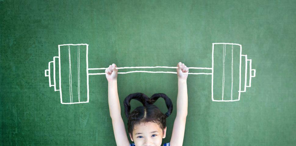 Кога детето може да започне с тежестите във фитнеса?