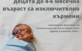 Само при 10% от новородените у нас кърменето започва през първия час