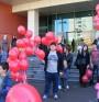 100 червени балона над Варна в деня за борба с хемофилията
