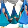 Аеройога или йога във въздуха