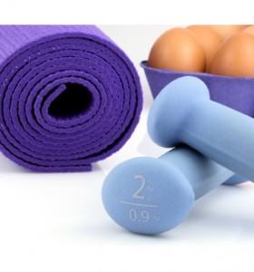 За сила и координация при спортуване, не забравяйте яйцата