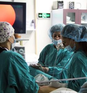 Ендоскопска хиругия и за отстраняване на рак в репродуктивни органи на жената