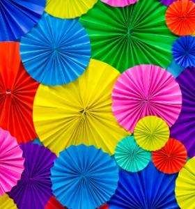 За лечебната сила на цветовете...