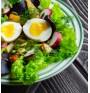Салатата консумирайте с яйце за повече ползи от зеленчуците