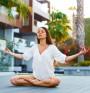 Поза на йога бори умората