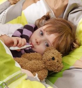 Грип при децата и опасностите, които крие