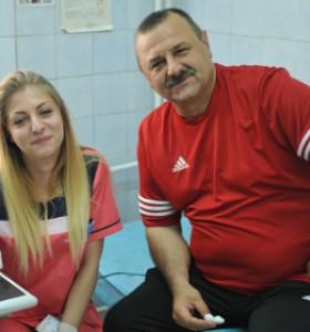 Футболисти дариха кръв безвъзмездно