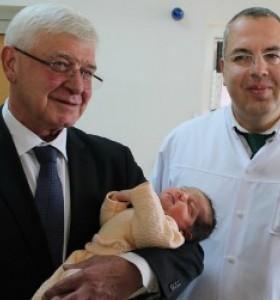 Откриха обновената послеродилна клиника на Майчин дом в София