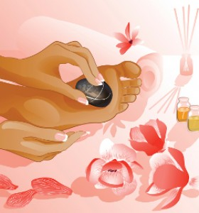 Рефлексен масаж намалява болката в тялото