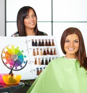 Странични ефекти от боята за коса