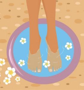 Вана за крака с вода за уста – защо не?