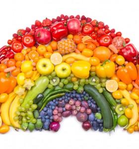 По-здрави с хранене по цветове