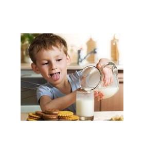 Алергия към млякото повишава риска от астма