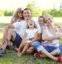 Голямо семейство = здрава мама