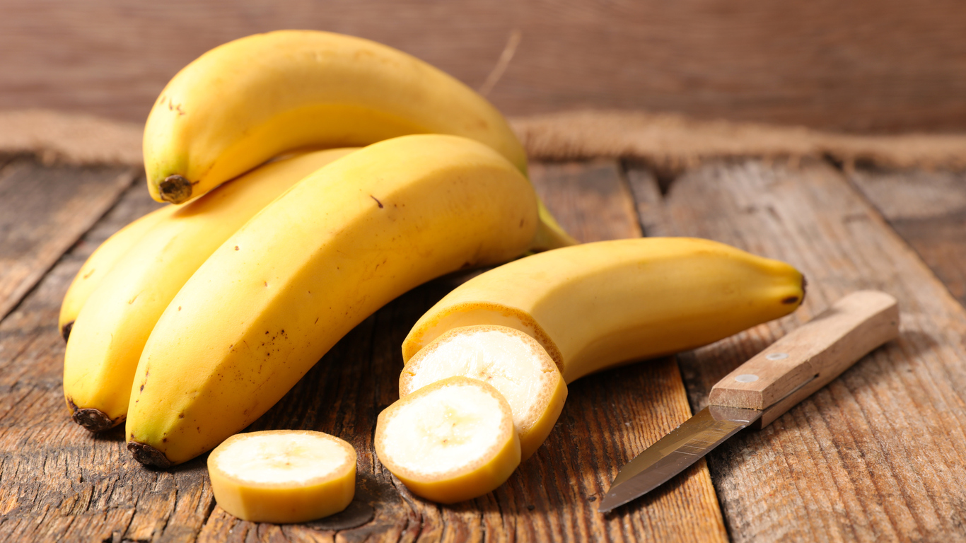 Никога не подценявайте силата на банана. Това е призива на