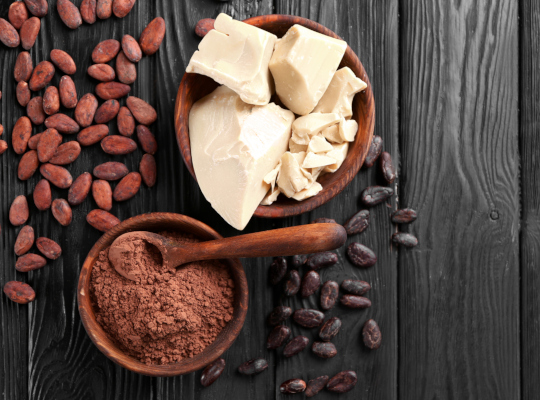 източник: Какаовото масло е богато на магнезий, цинк, калций, калий,
