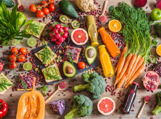 Списъкът по-долу включва някои от храните, които едобре да бъдат