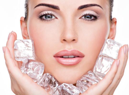 Снимка: Лед за съвършено чиста и гладка кожа