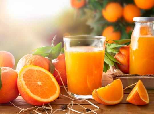Снимка: Портокал дневно възпрепятства макулната дегенерация