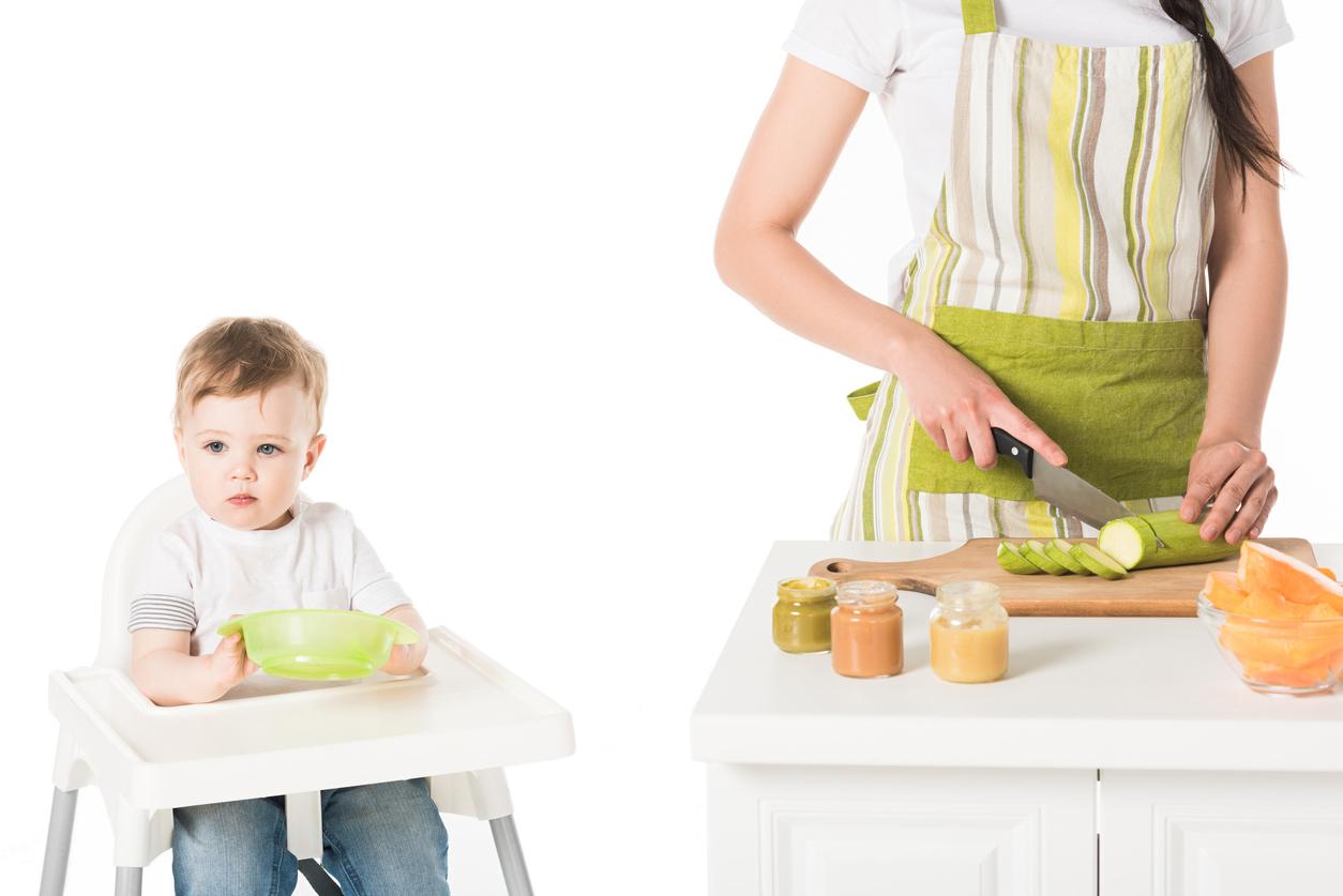 Ако сте избрали да започнете захранването със зеленчуково пюре подберете