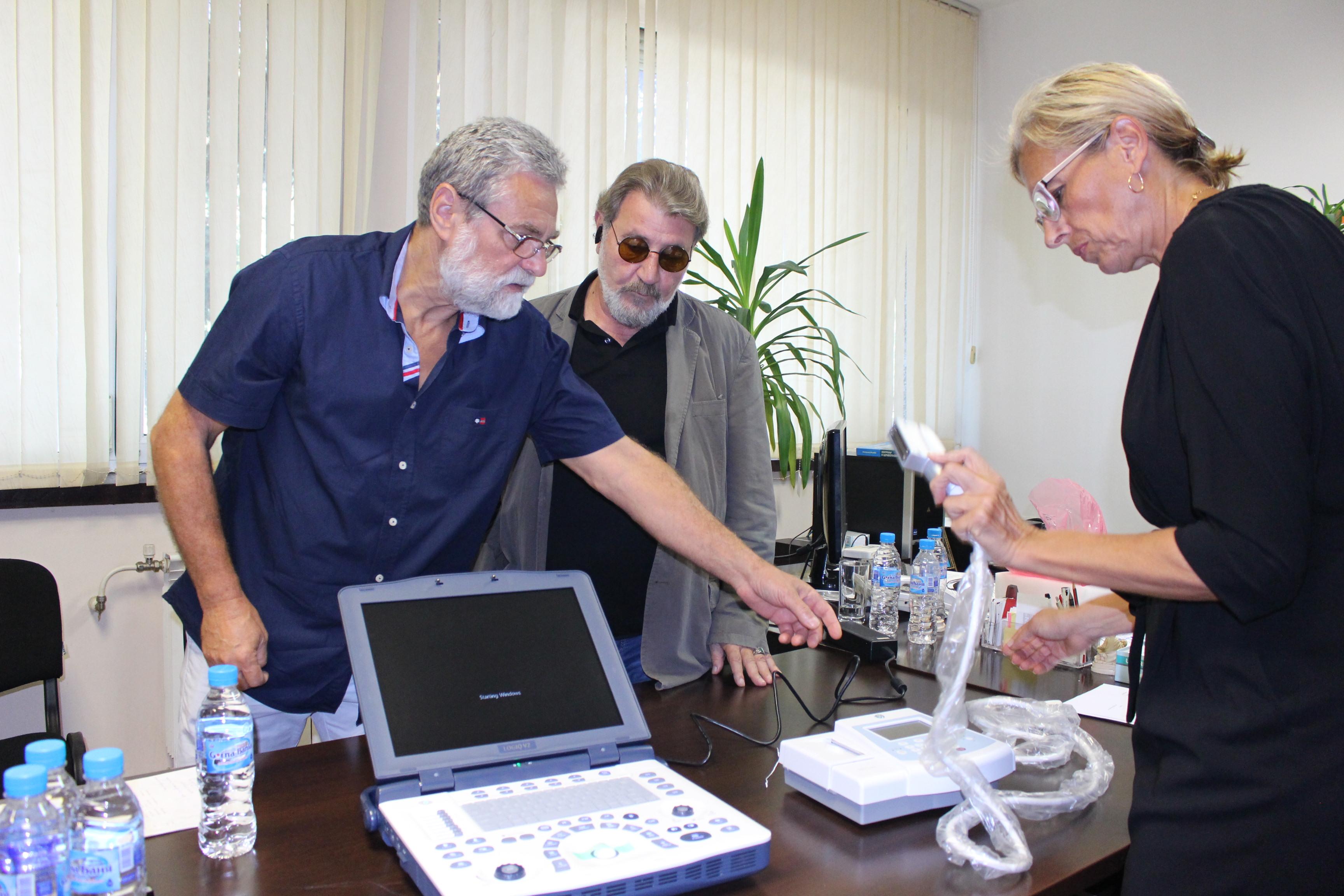 Снимка: Безплатни прегледи с нов съдов доплер в Бургас